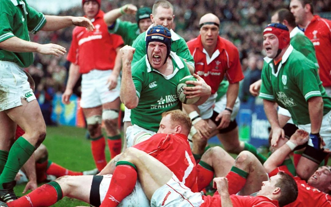 Il rugby e l'Irlanda, magia vera