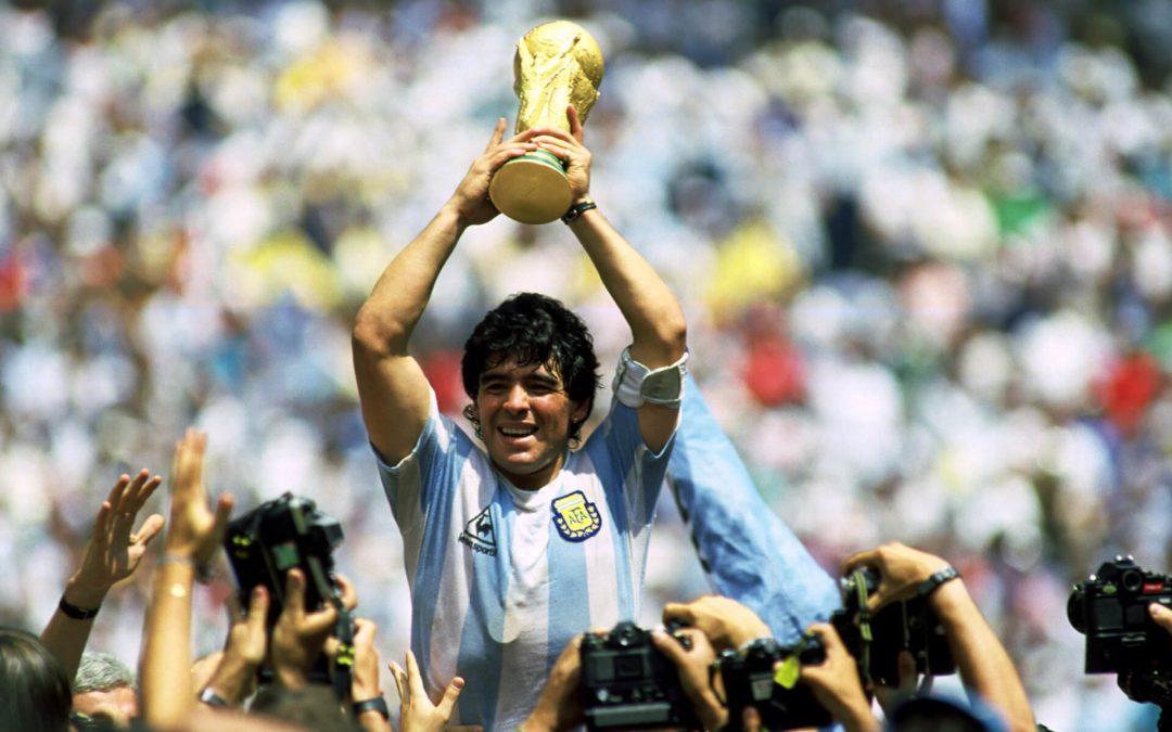 Maradona e il quasi gol più bello di sempre
