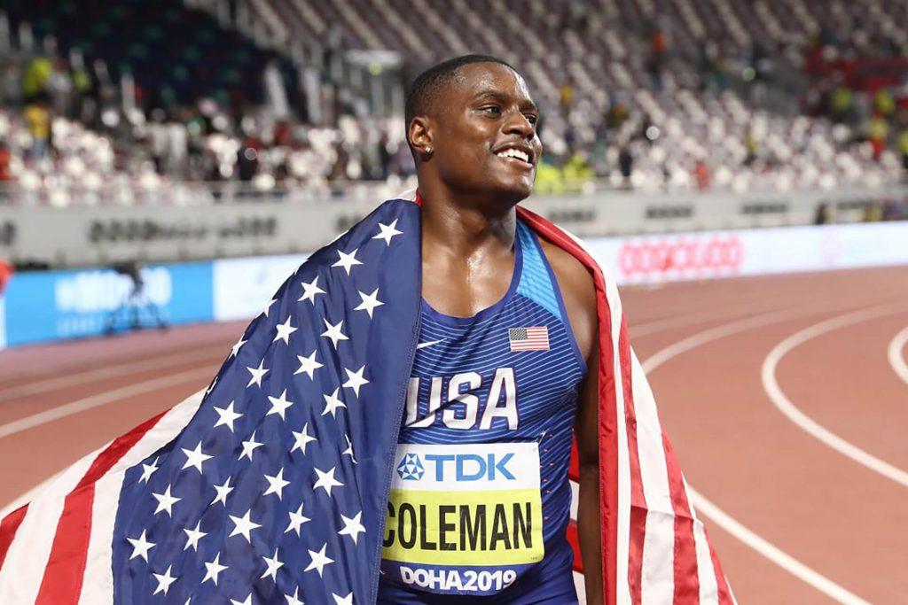 christian coleman doping oro mondiali doha corsa velocista