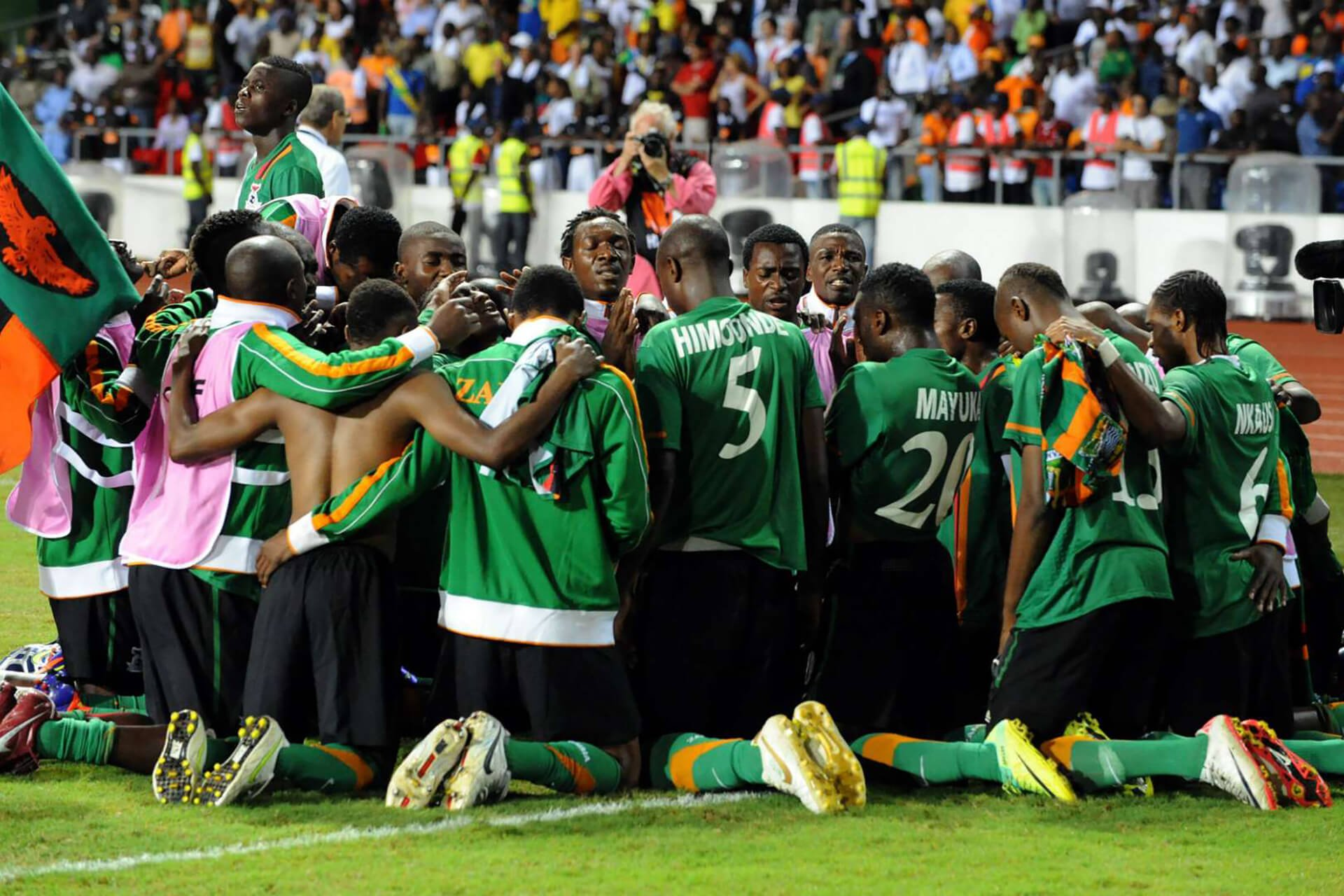 zambia nazionale calcio coppa d'africa