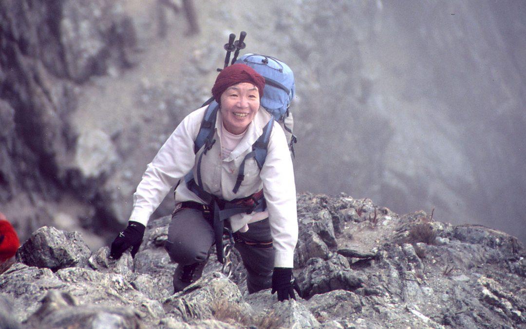 Junko Tabei, la prima donna sull'Everest