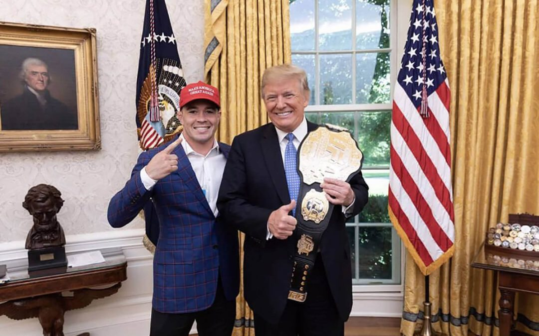 Colby Covington, il fighter di Trump