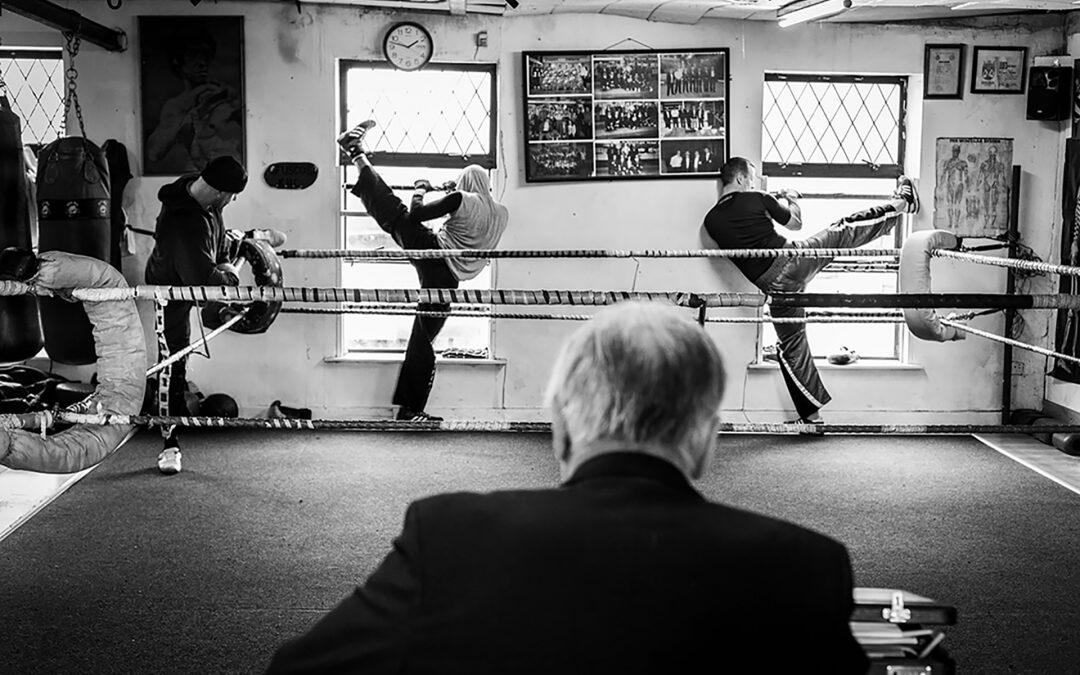 Il santone della kickboxing dublinese