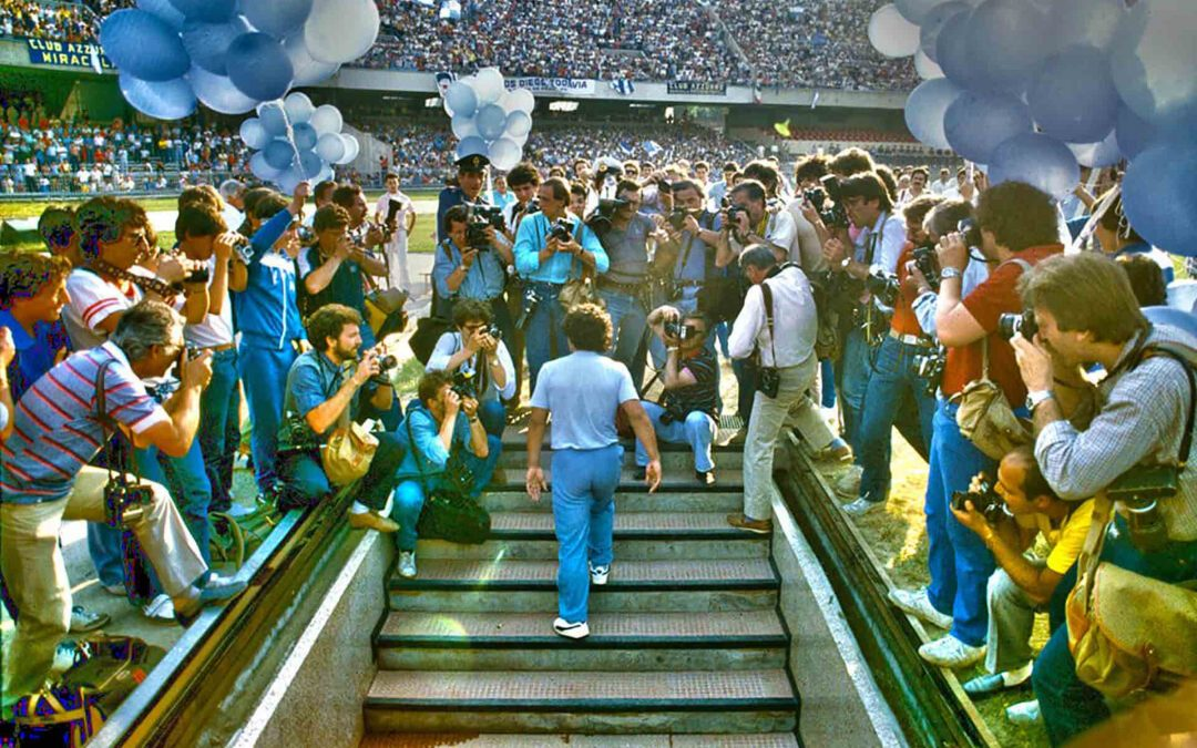 1984, il paradiso del calcio italiano