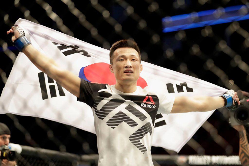 Jung Chan-sung zombie coreano UFC