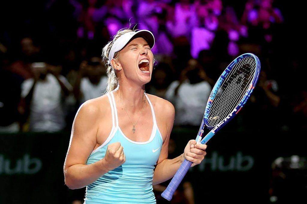 tennista Maria Sharapova