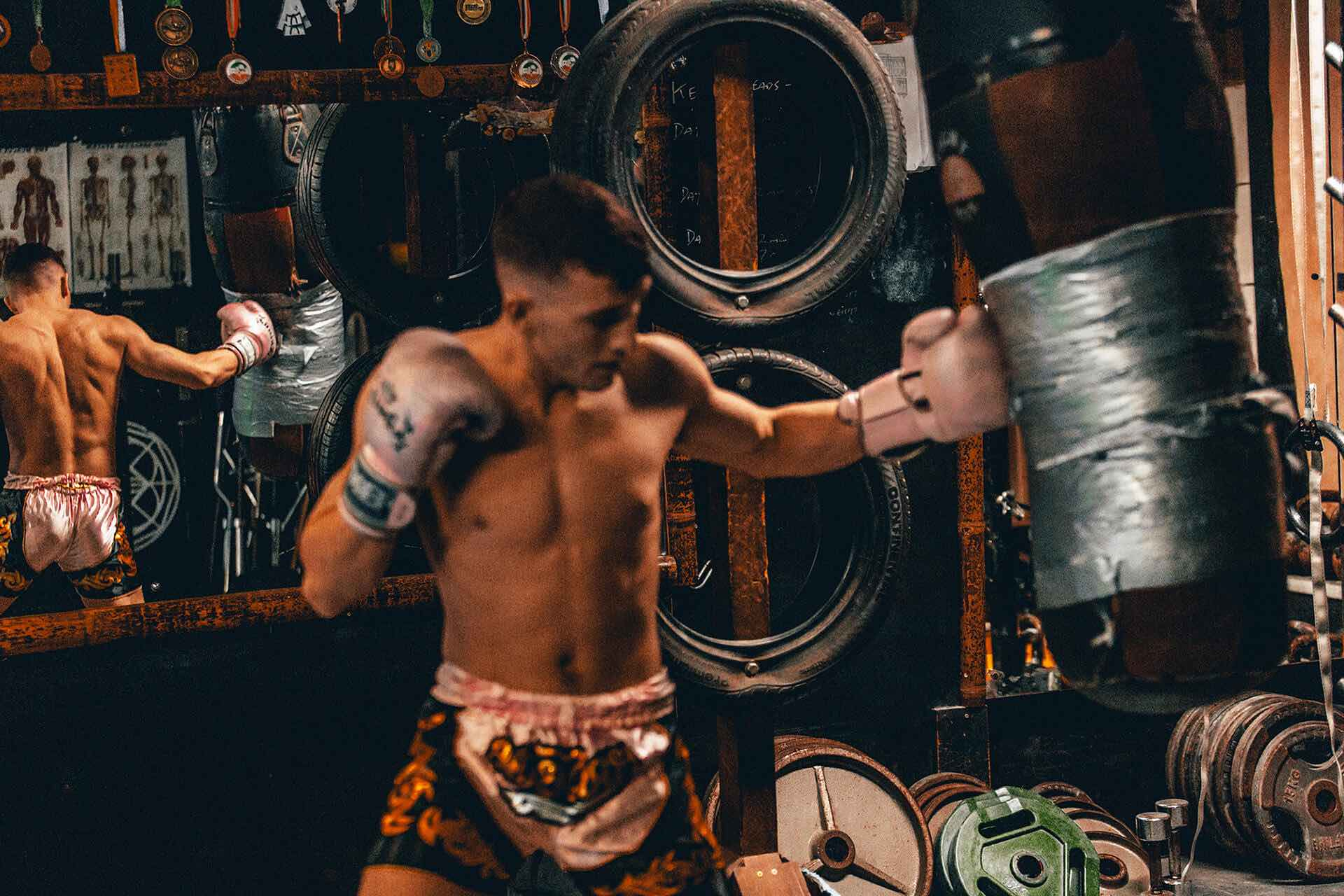 Muay Thai Jay Counsel David Hendrick