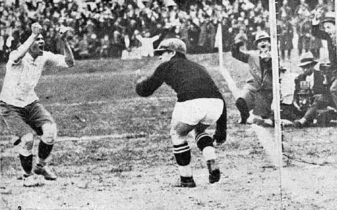 Lucien Laurent, il primo gol Mondiale