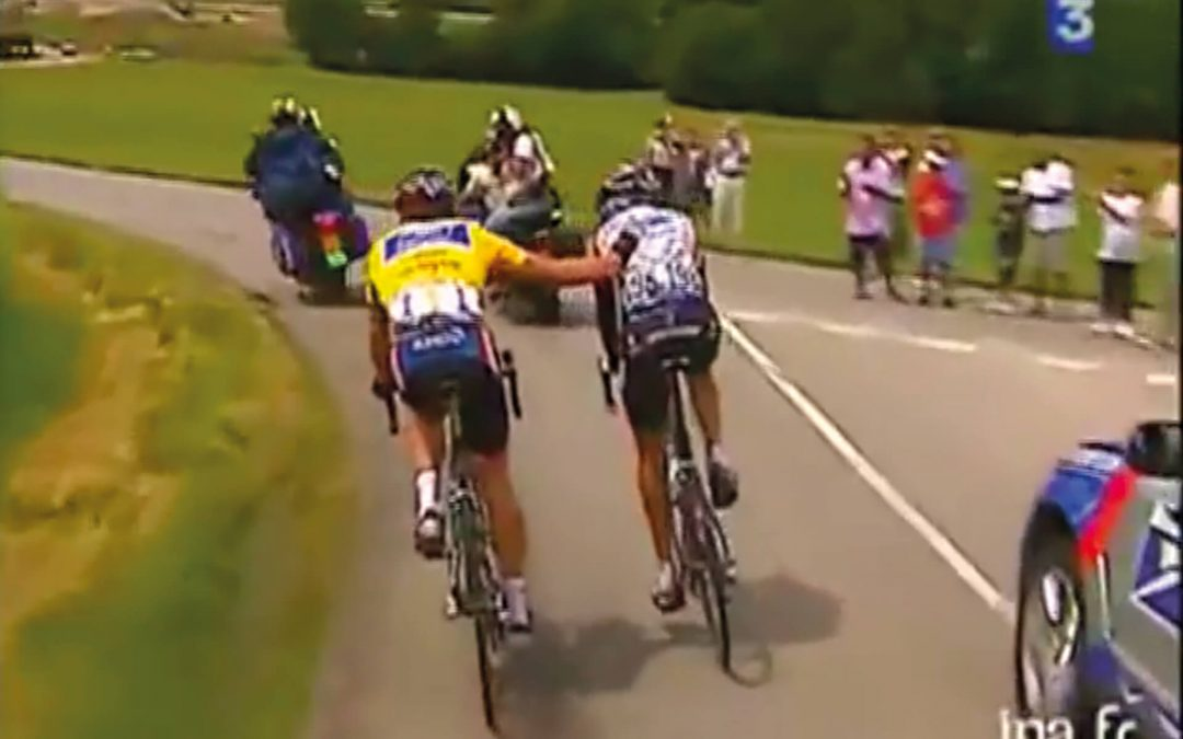 Simeoni and Armstrong, a cruel cycling film