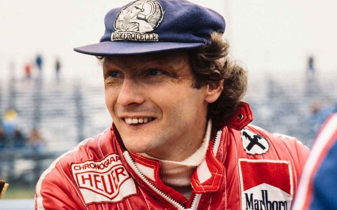 Niki Lauda, mezzo punto avanti