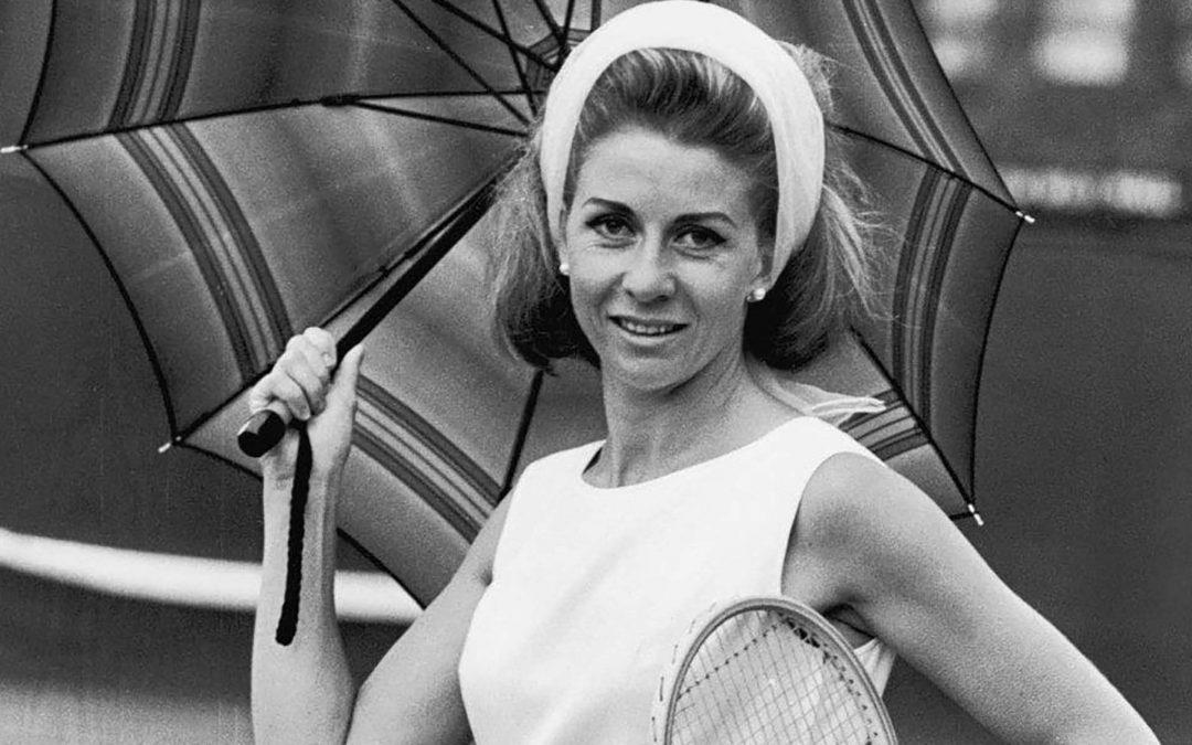 Lea Pericoli, la 'Divina' del tennis