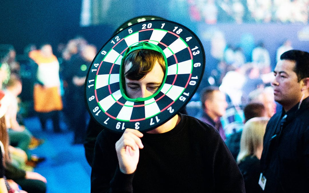 Darts are serious business