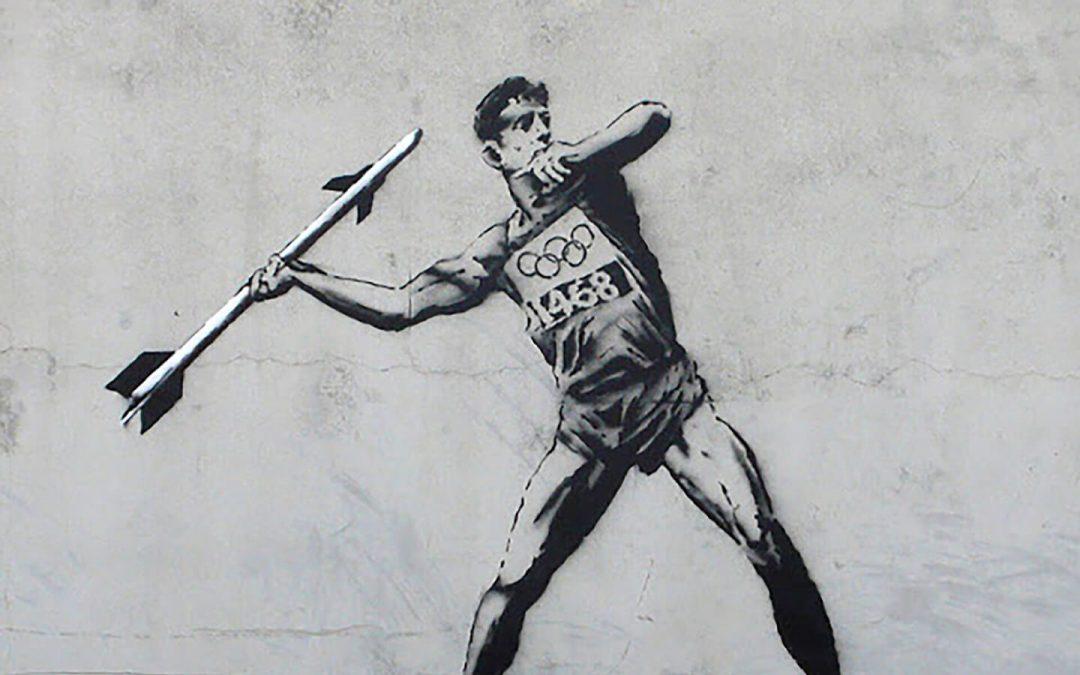 Lo sport secondo Banksy