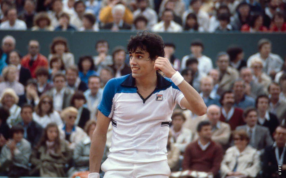 Víctor Pecci, il playboy del tennis