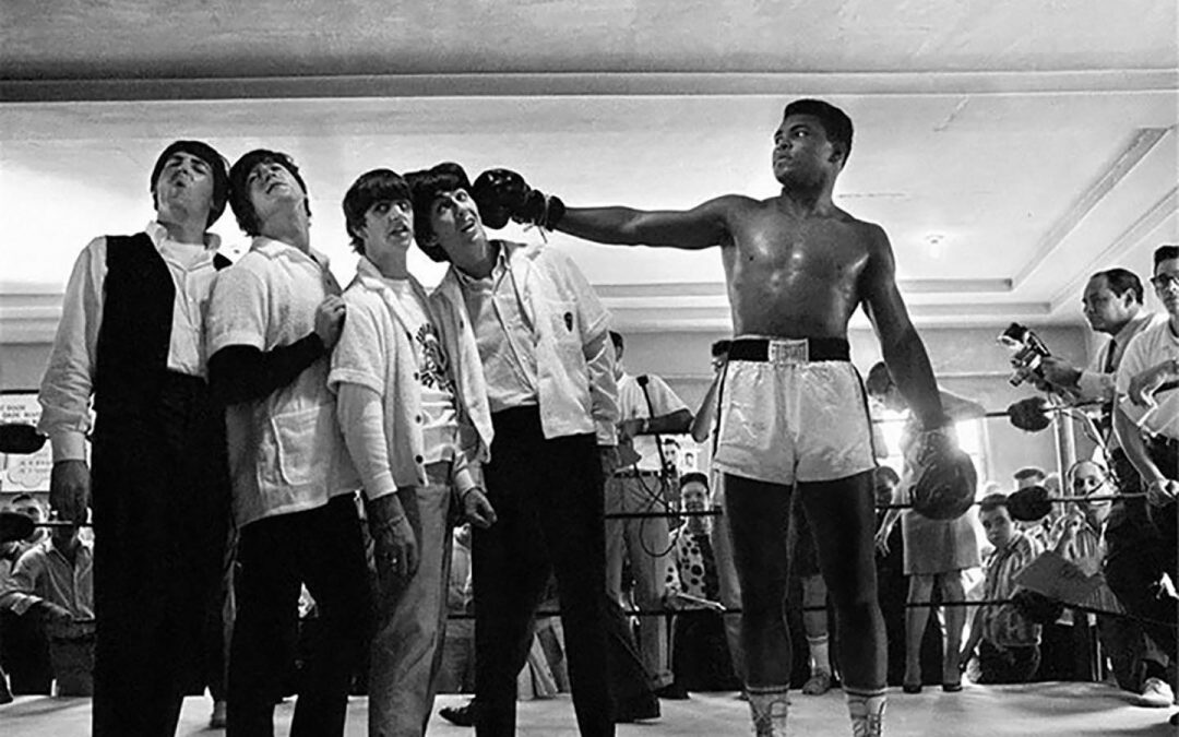 Cassius Clay, Sonny Liston e i Beatles