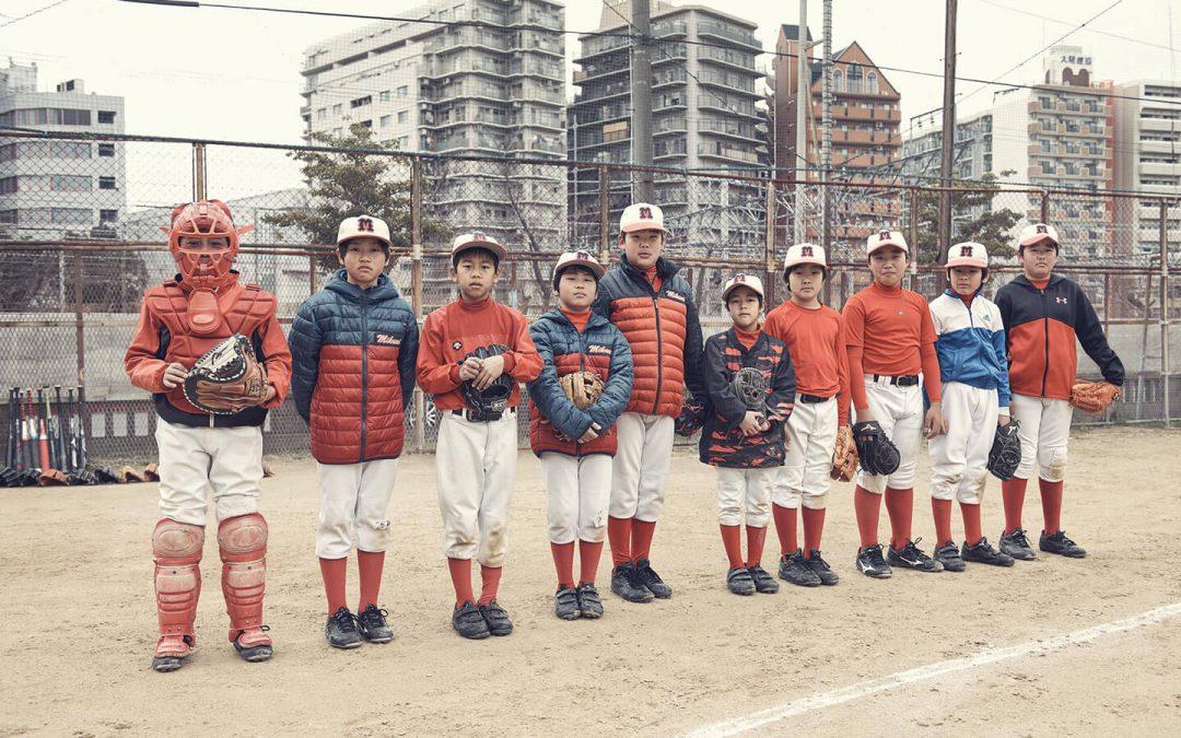 野球, baseball in Osaka