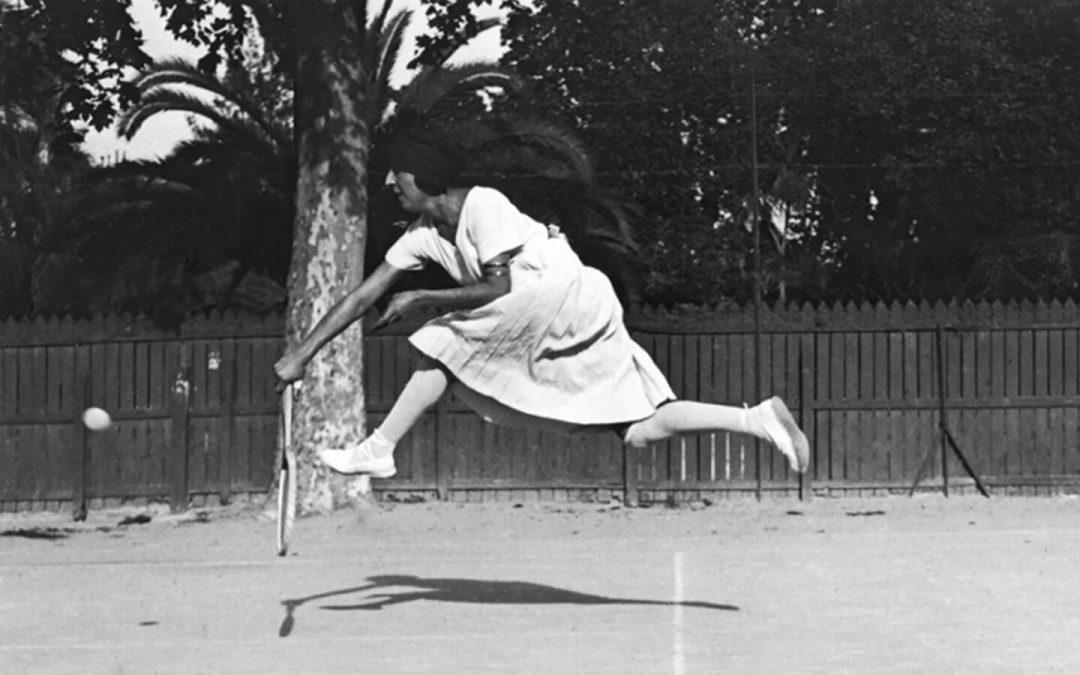 Suzanne Lenglen secondo Henri Lartigue