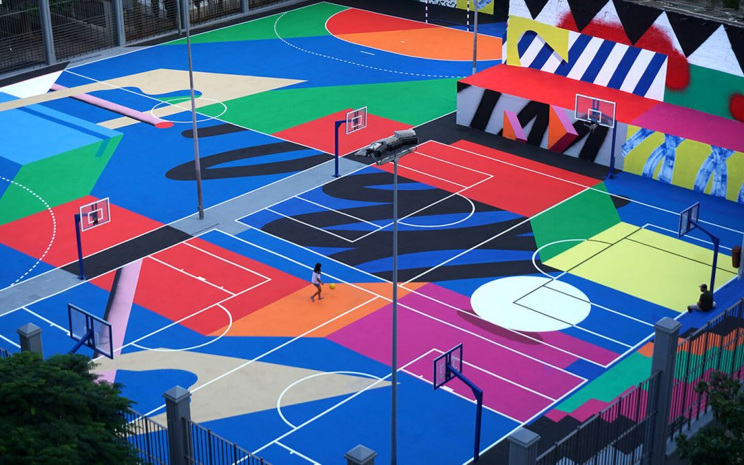 Mur0ne's dreamlike sporting urbanity