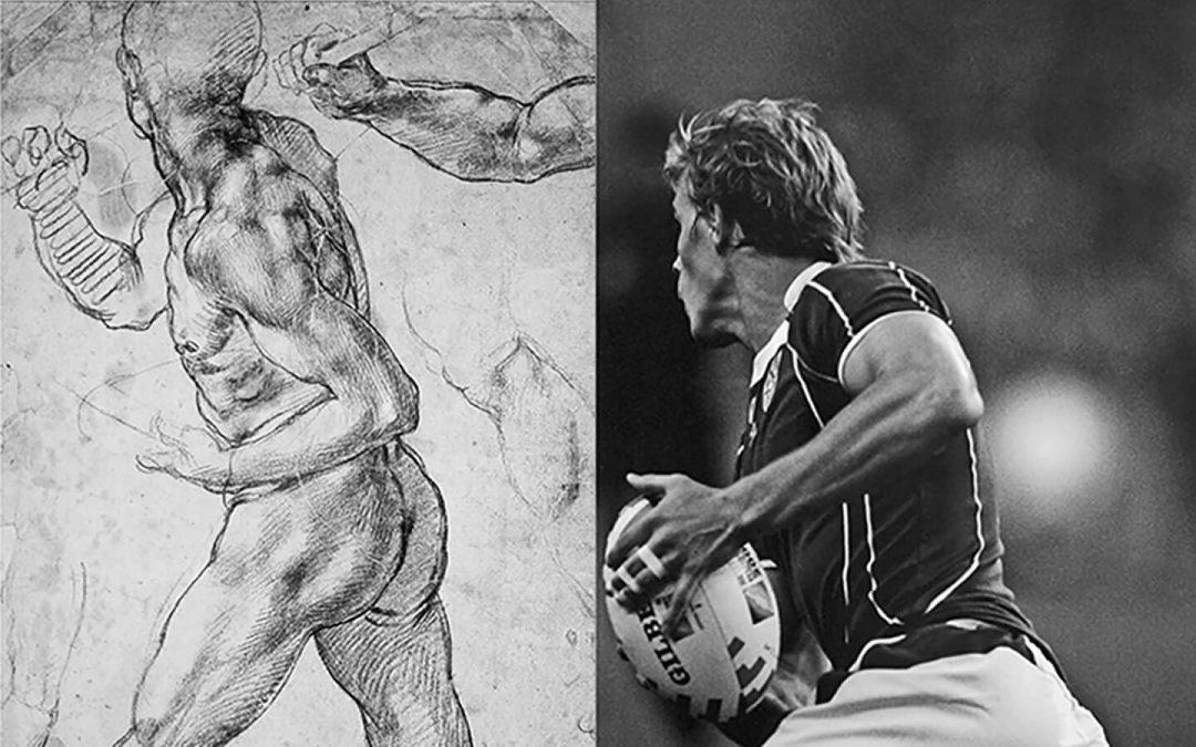 'Scrums and Battles', rugby is an art form
