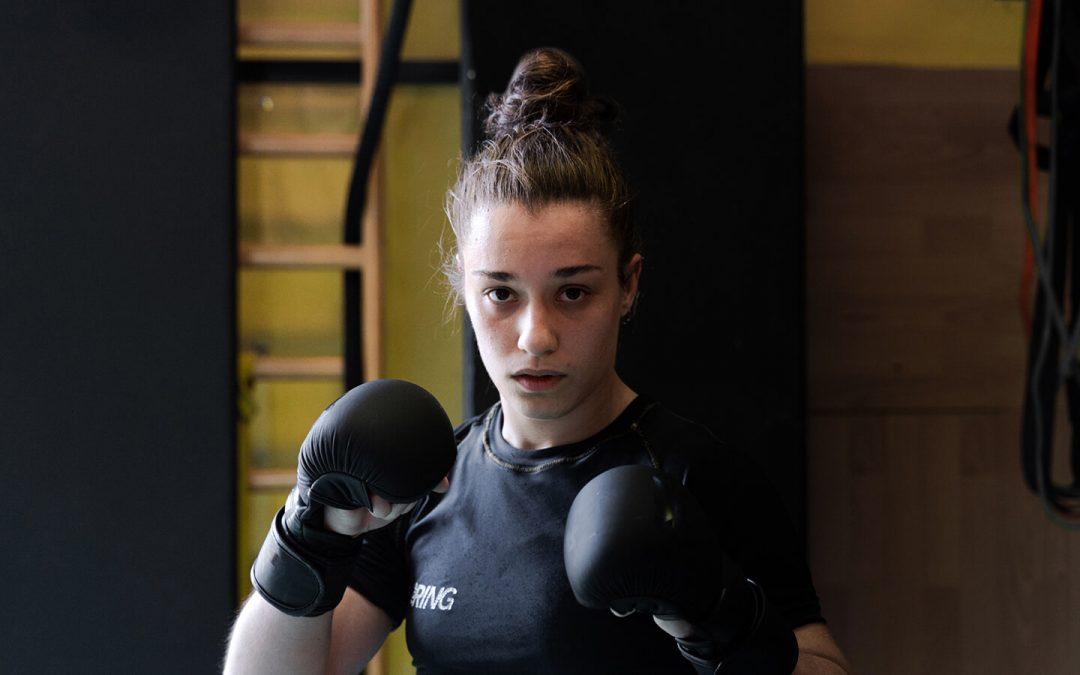 Jasmine Favero, la UFC è un sacrificio quotidiano